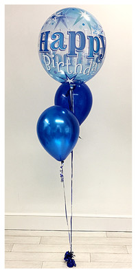 Pre-Printed Bubble Balloon Bouquet