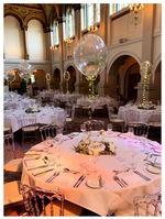 Bespoke Fern Filled Bubble Balloon