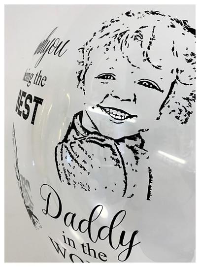 Photo Stencil Bubble