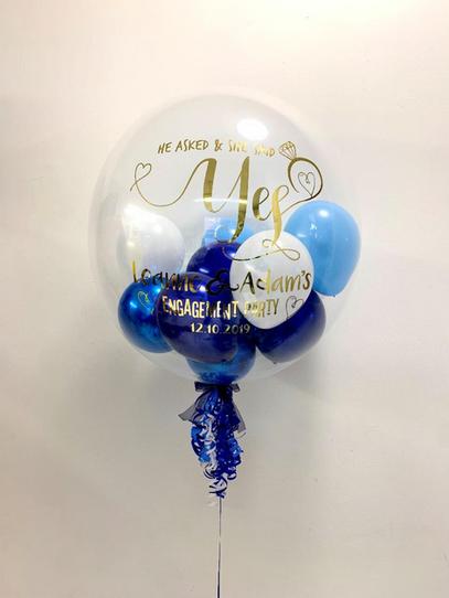 Engagement Bubble Balloon