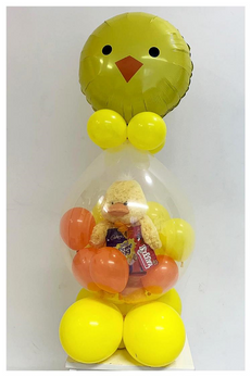 Easter Chick Stuffed Balloon
