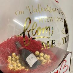 Valentines Stuffed Balloon