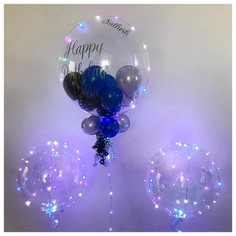 Pastel Jellyfish with LED Bubble