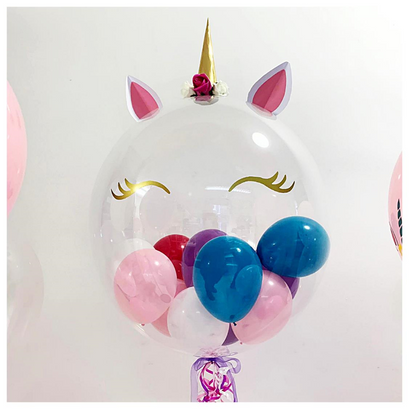 Unicorn Bubble Balloon