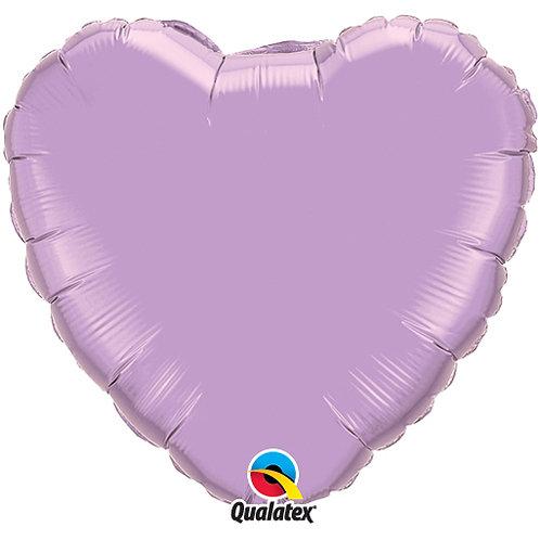 "Lavender 18"" Foil Balloons"