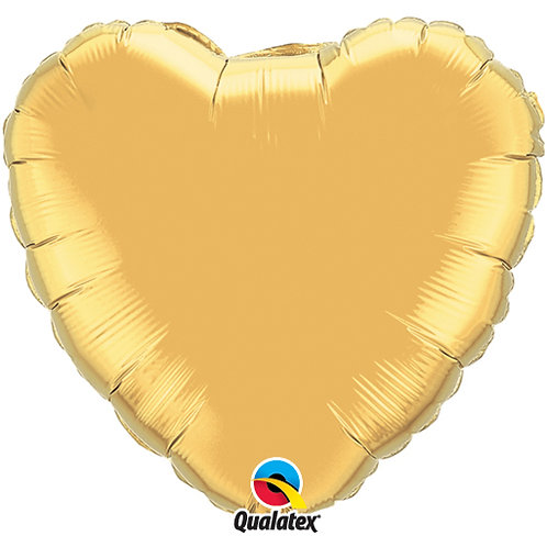 "Metallic Gold 18"" Foil Balloons"
