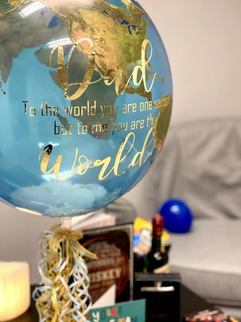 Father's Day Earth Balloon