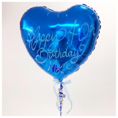 Small Glitter Blue Heart 3.png