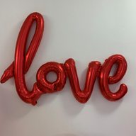 Red Scripted Love