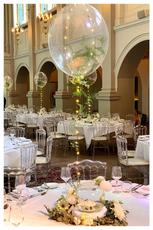 Bespoke Fern Filled Bubble Balloon