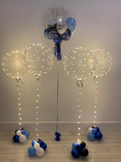 Engagement Bubble Balloon and Jellyfish Balloons