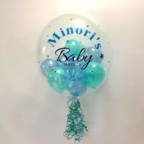 Minori's Baby Shower Bubble Balloon