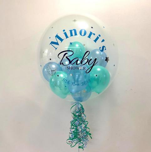Minori's Baby Shower Bubble Balloon
