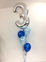 4 Latex Balloon Bouquet