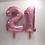 "Thumbnail: Pale Pink Number Balloon (40"")"