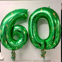 Rugby Themed Green 60