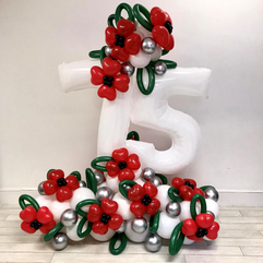 75th Anniversary Poppy Structure