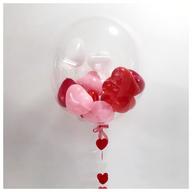 Heart Filled Bubble