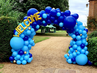 Blue Welcome 'Cumberland' Arch