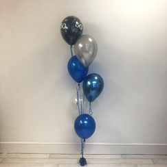 6 Latex Balloon Bouquet
