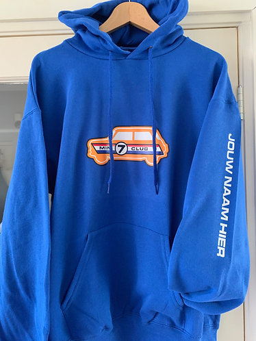 Hoodie with Orange Logo (with Custom Name/Reg)