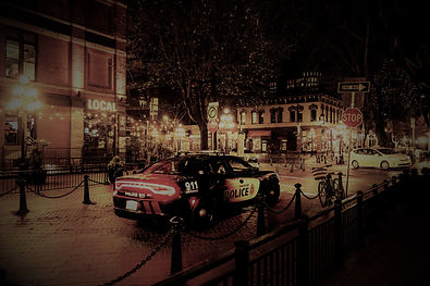 photography-of-police-car-during-night-t