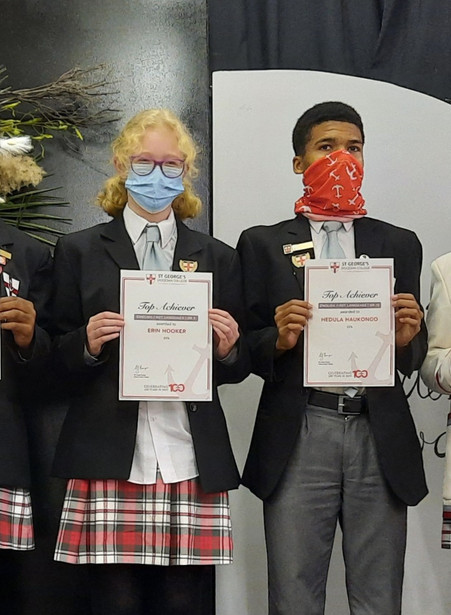 Top Achievers English First Languague