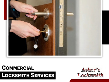 Avail of the Best Commercial Locksmith Services!