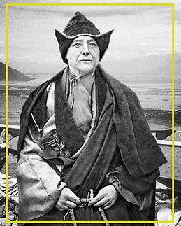 Portrait Alexandra David-Néel