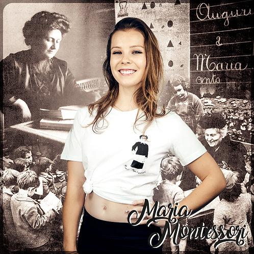 T-shirt MARIA MONTESSORI #LesAffranchies