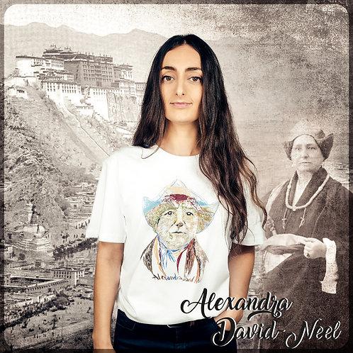 T-shirt ALEXANDRA DAVID NEEL #LesAffranchies