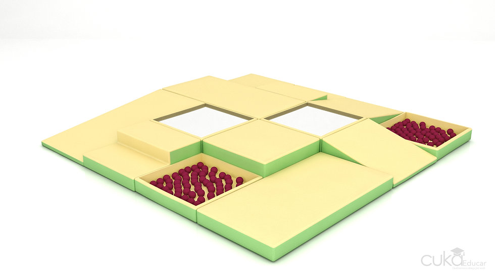 Brinquedo de Piso Modular