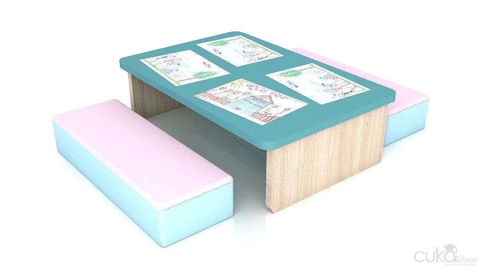 Mesa Infantil para Atividades