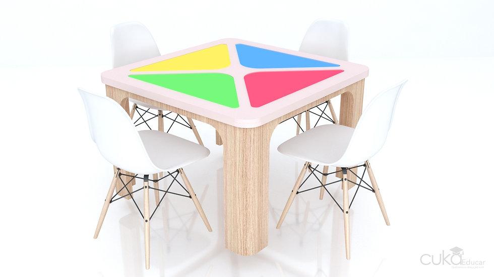 Mesa Infantil de Luz Genius