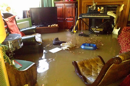flood cleaning and water restoration