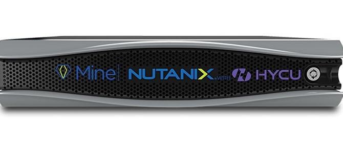 Com a Nutanix Mine, Nutanix adiciona armazenamento secundário convergente
