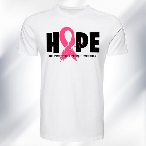 Hope 'Ribbon' T-Shirt (Adult Unisex)