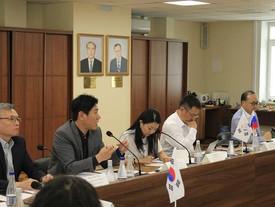 Встреча с представителями корейского научно-исследовательского института морской техники
