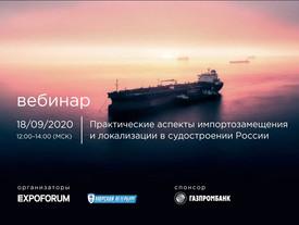 """Онлайн семинар """"Практические аспекты импортозамещения и локализации в судостроении России"""""""