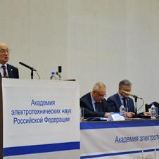 В Феврале прошло собрание членов академии электротехнических наук РФ.
