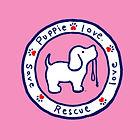 Puppy-Love-Girls-Logo-Tee-Pink-YTH-SPL00