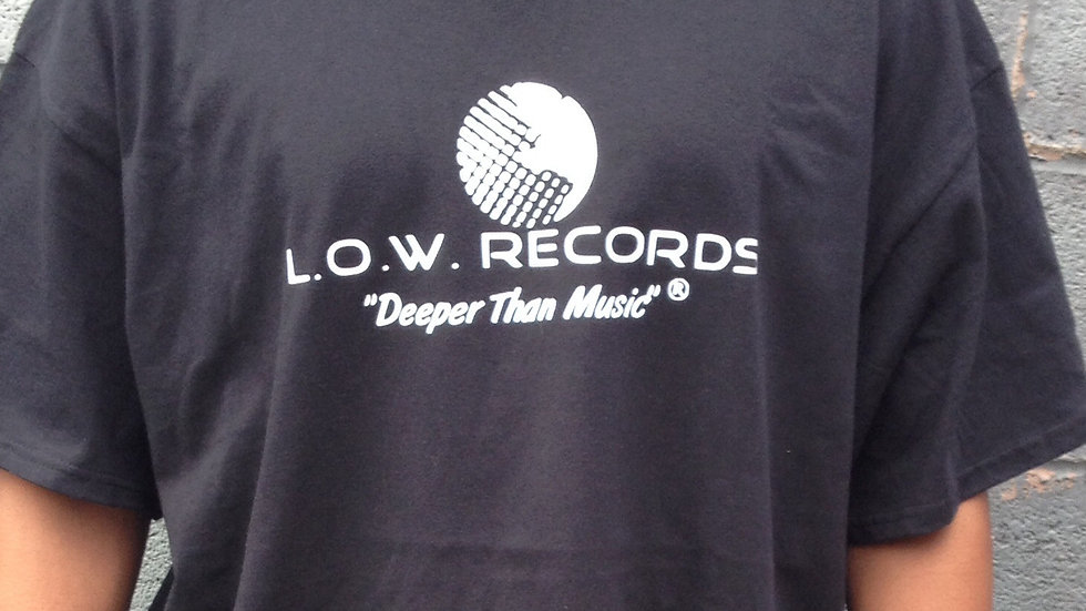L.O.W. Records- Official Tee