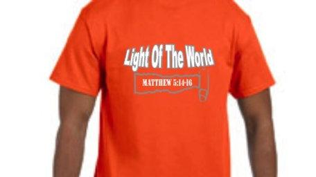 """Light Of the World""- Tee"