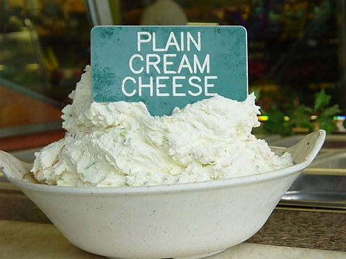 PLAIN CREAM CHEESE - 1 LB