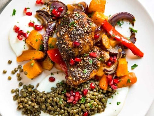 MOROCCAN ROASTED CHICKEN MEAL