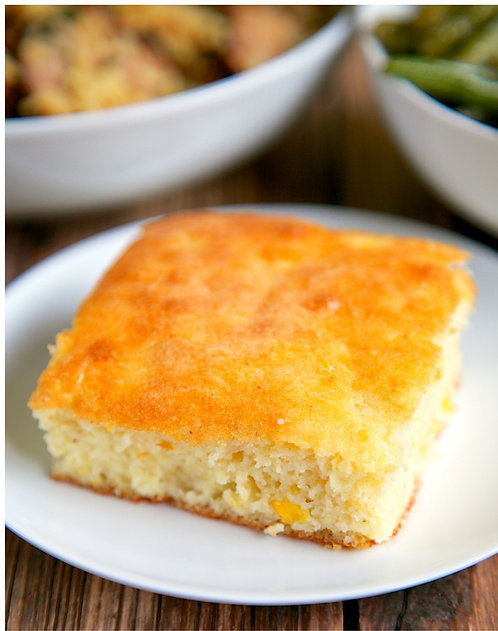 SOUR CREAM CORNBREAD TRAY