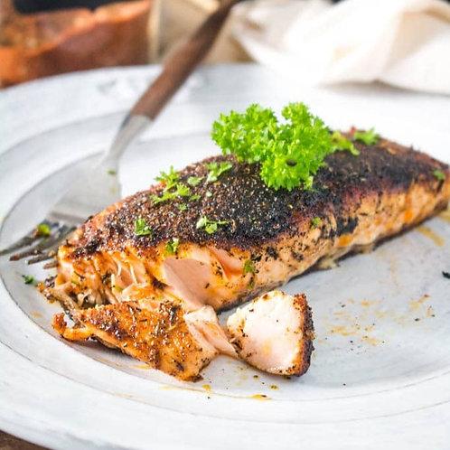 Box 3 : Blackened Salmon Meal