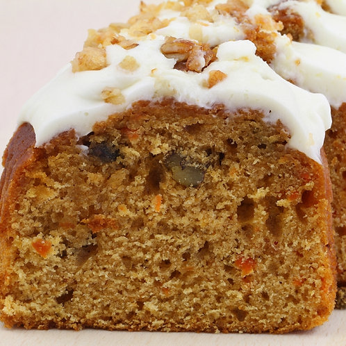 Carrot Cake w/ caramelized oranges