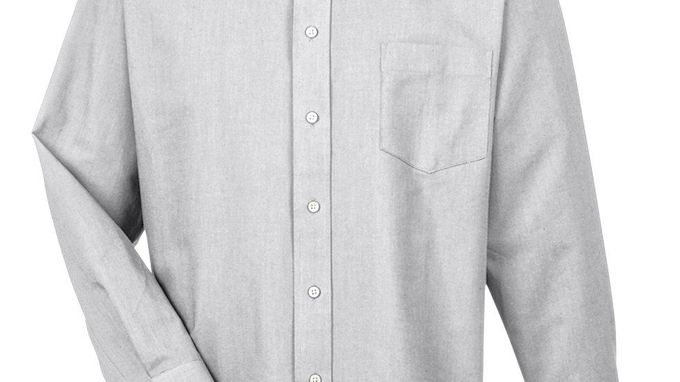 8970 UltraClub Men's Classic Wrinkle-Resistant Long- Sleeve Oxford