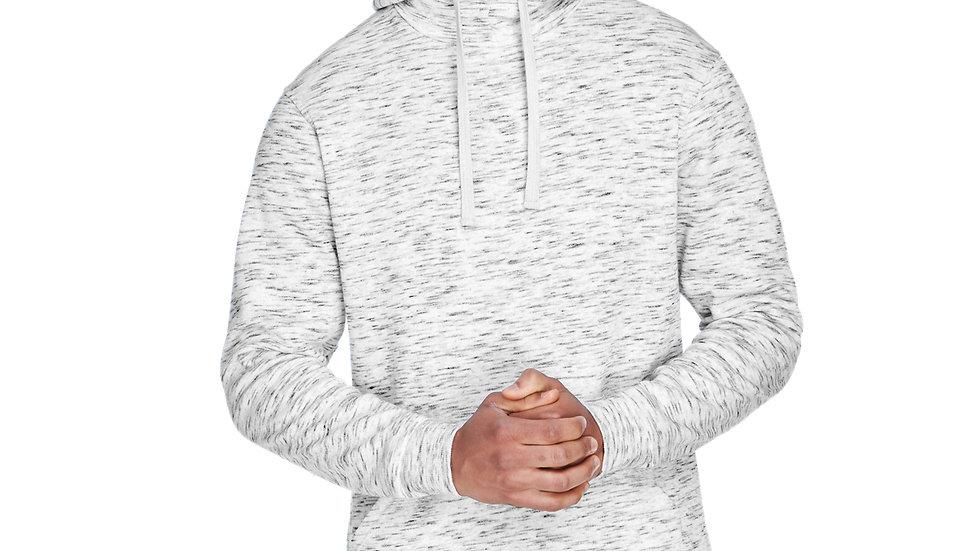 J America Adult Melange Fleece Pullover Hood JA8677
